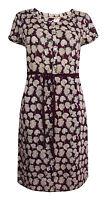 New White Stuff 6 - 18 Purple Mauve SPERO Floral Vintage Summer Shift Tea Dress