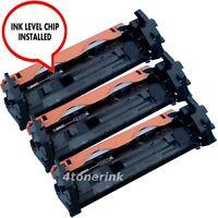 3pk CF217A 17A Toner Cartridge For Hp Lasejet M130fn M130fw M102w M102a +CHIP