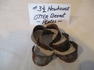 Newhouse Trap Otter Breast Plates for a No. 3 1/2 Newhouse / HUTZEL / Trapping /