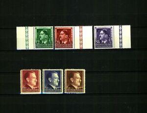 3. Reich occupation Poland 2 sets Hitler stamps MINT MNH !