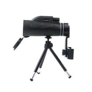 BAK4 HD Zoom 80x100 Lens Prism Monocular Waterproof Telescope+Tripod+ Phone Clip