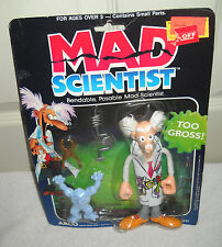 #9524 RARE NRFB Vintage Mattel Mad Scientist Bendable Posable Figure