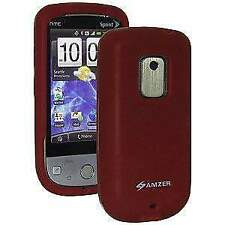 Amzer Maroon Silicone Jelly Case for Sprint Htc Hero