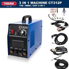 CT312p TOSENSE Pilot arc plasma cutter tig/mma welder welding machine 3IN1 NEW