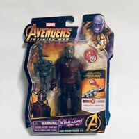 Marvel Avengers Infinity War Star-Lord With Infinity Stone Action Figure Toy NIB