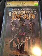 Walking Dead #19 1st Michonne CGC Signed SS 4X 9.6 NM+Moore Danai Kirkman Adlard