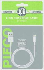 2m Apple Ipad Iphone 8 Pin Charging Cable USB Data Lead Lighting Sync 5 6 6s 7 8