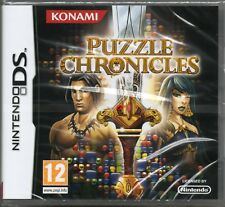 PUZZLE CHRONICLES GAME DS ~ NEW / SEALED