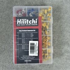 Hilitchi 240 Pcs Insulated Terminal Ring Electrical Wire Crimp Connectors Set
