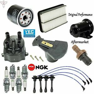 Tune Up Kit Filters Spark Plugs Wire for Toyota Corolla 1.8L 1993-1995 1997