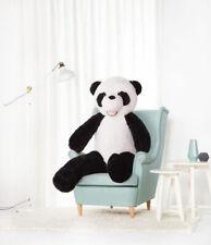 XXL Ours en Peluche Ourson Animaux Plüshtier Tissu Panda 160 CM