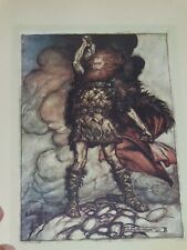 1910 ARTHUR RACKHAM THE RHINEGOLD & THE VALKYRIE by WAGNER 34 COLOUR PLTS ST ED