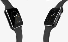 X6D Bluetooth Smart Watch Curved Screen Smartwatch For iPhone Android Black