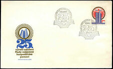 Czechoslovakia 1974 Mutual Economic Assistance FDC First Day Cover #C38642