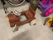 RARE Vintage 1962 Murray AMF Flinstones Pedal Car Ride On Toy Cartoon Hanna Barb
