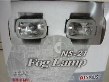 Mini Nebelscheinwerfer Streuscheibe klar 12V Universal natürlich mit TÜV