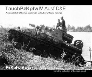 """""""TauchPzKpfwIV Ausf D&E"""". PzKpfwIV at the front Supplementary Edition."""