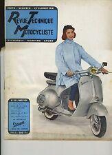 (31A)REVUE TECHNIQUE MOTOCYCLISTE Motobécane Z23C / BMW R50 et R69/ MOBYLETTE