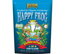 Fox Farm Happy Frog Cavern Culture Fertilizer 4 lb bag Free Shipping Bat Guano