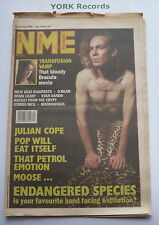 NEW MUSICAL EXPRESS NME - January 30 1993 - JULIAN COPE / POP WILL EAT ITSELF
