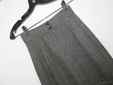 UNGARO TER Vintage Wool Black and White Skirt Made in Italy Size 4 EUC  HC