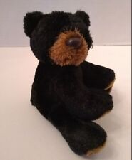 Aurora Black Bear Beanbag Cub Mini Plush Stuffed Soft Toy Animal 5 iinch