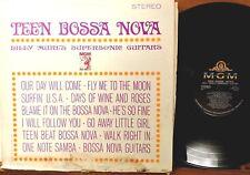 SURF MOD ROCK INSTRUMENTAL LP: BILLY MURE'S SUPERSONIC GUITARS Teen Bossa Nova