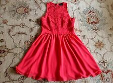 Warehouse Spotlight Coral Dress, UK 14/EUR 42