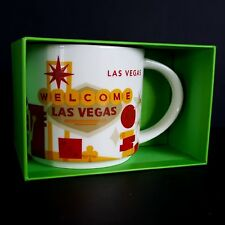 Starbucks You Are Here Mug LAS VEGAS Charity Listing No Kid Hungry NEW Boxed