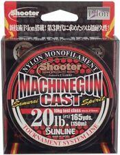 No. 20lb New at Brown nylon line shooter machine gun cast 150m 5 /Sunline