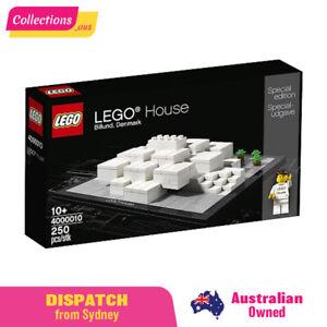 GENUINE LEGO House: Billund Denmark - 4000010 - Sealed Box - FAST FREE Shipping!