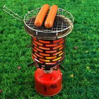 Portable Camping Tent Heater Warmer Stove Heating Cover Stainless Steel US SALE