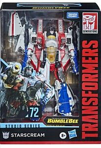 Hasbro Transformers Studio Series 72 Voyager Bumblebee Starscream Action Figure