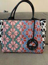 NWT KATE SPADE EVERYTHING SPADE FLOWER MEDIUM TOTE w/WRISTLET/POUCH
