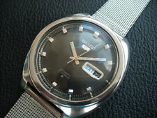 RARE VINTAGE SEIKO AUTOMATIC 21 JEWELS STUNNING BLACK DIAL  LOT 18