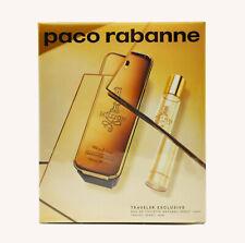 paco rabanne 1 One Million 100ml EDT Spray + 20ml Travel Spray SET NEU/OVP Folie