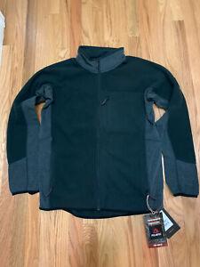 Burton Snowboards Minturn FZ Polartec Fleece Jacket Black Sz M NWT $150