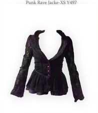 Punk Rave XS S Jacket Jacke lila victorian viktorianisch gothic Y497 Mantel WGT