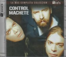 NEW- La Mas Completa Coleccion 2 CDS Control Machete 602498840696 SHIPS NOW !