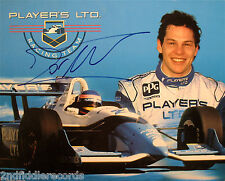 JACQUES VILLENEUVE-Autographed Racing Photograph-INDIANAPOLIS 500 WINNER