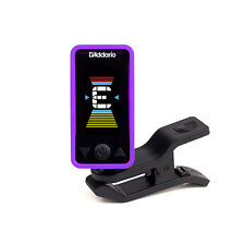 Planet Waves Eclipse Clip-On Chromatic Headstock Guitar Bass String Tuner Purple
