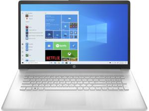 """NEW HP 17.3"""" 17z Laptop,AMD Athlon Gold3150U,12GB RAM,128GB SSD+ 1TB HD Silver"""