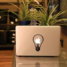 Fine Light Bulb Vinyl Decal Sticker Skin for Apple MacBook Pro Air Mac New