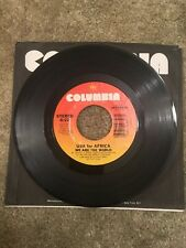 USA For Africa - We Are The World 45 rpm 1985 Vinyl