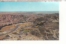 Badlands of South Dakota  U S Highway 16-A   Chrome Postcard 2207