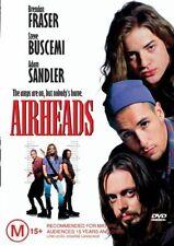 Airheads DVD=BRENDAN FRASER= REGION 4 AUSTRALIAN RELEASE=NEW AND SEALED