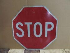 Vintage Aluminum Metal Street Sign Stop Octagon S2