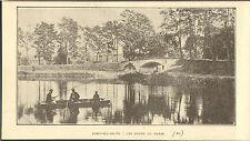 70 PORT-SUR-SAONE LES BORDS DU CANAL IMAGE DE 1929