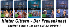 22 DVDs  * HINTER GITTERN - DER FRAUENKNAST : STAFFEL 1 - 4 IM SET # NEU OVP §