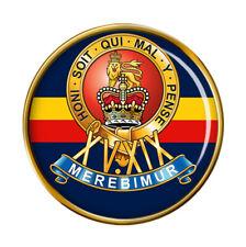 15th/19th King's Royal Hussars, British Army Pin Badge